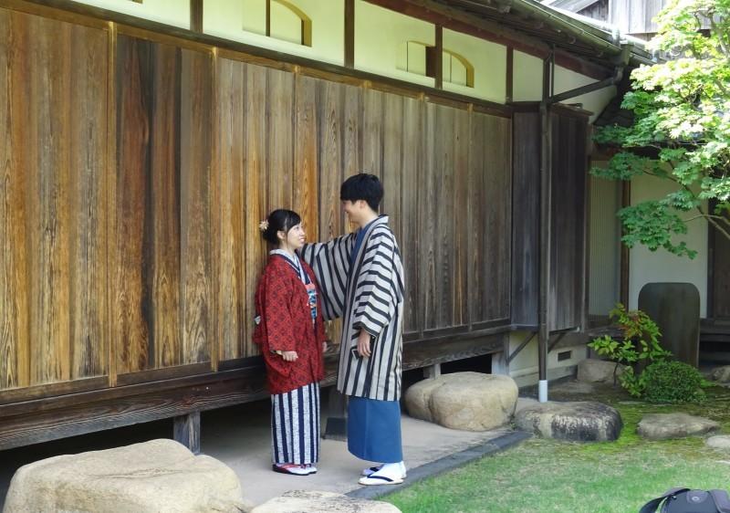 七夕に素敵なカップル_f0101949_15042935.jpg