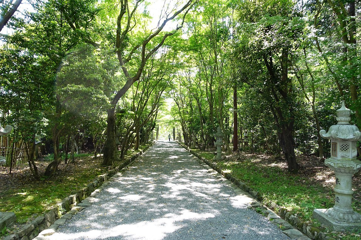 大原野神社(その1)参道で昼食_c0112559_08121344.jpg