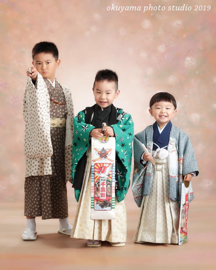3兄弟のにぎやかな七五三_c0115401_14035128.jpg