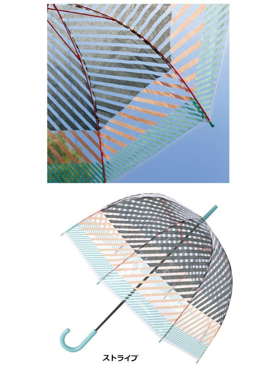 ドーム型のビニール傘_f0255704_18083926.jpg