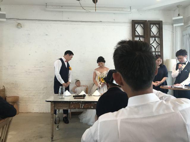 ユリカちゃんの結婚パーティーに参加させていただきました!_a0164918_18333119.jpg