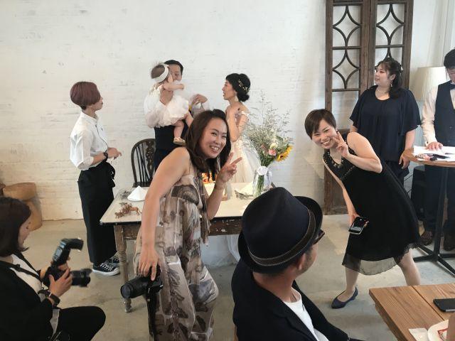 ユリカちゃんの結婚パーティーに参加させていただきました!_a0164918_18335293.jpg