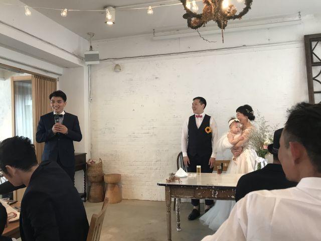 ユリカちゃんの結婚パーティーに参加させていただきました!_a0164918_18335713.jpg