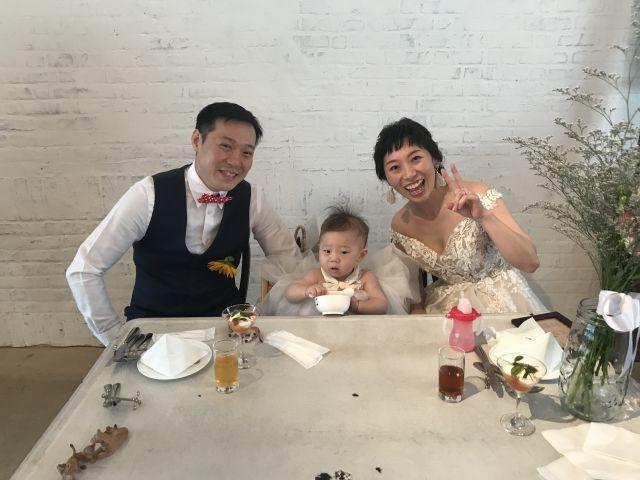 ユリカちゃんの結婚パーティーに参加させていただきました!_a0164918_18340574.jpg
