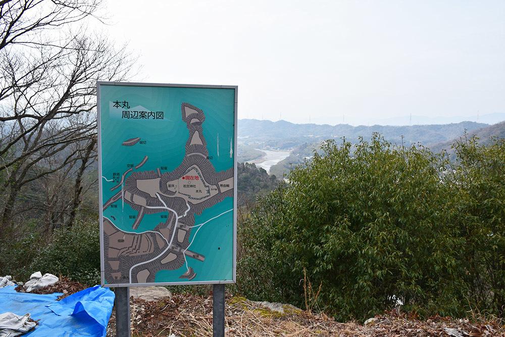 阿波国最大の山城、一宮城攻城記。 その3 <本丸>_e0158128_16170783.jpg
