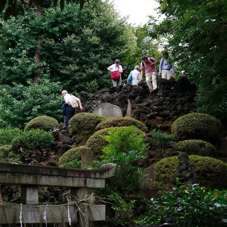 この二日間しか登れない、豊島長崎の富士塚・高松富士_c0060143_22185023.jpg