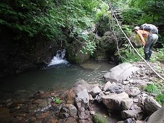 旧徳山村扇谷支流カラカン谷から合セ倉919.9m_e0064783_05161829.jpg