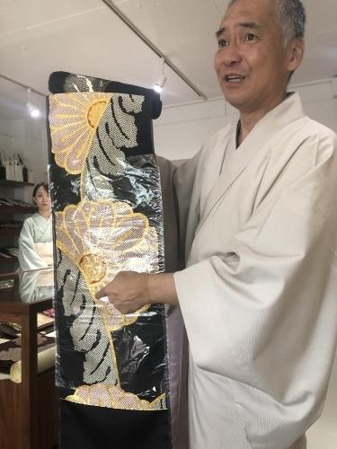 梅垣の美しい帯、伝統と革新@こもものや玖_f0083294_21332729.jpeg
