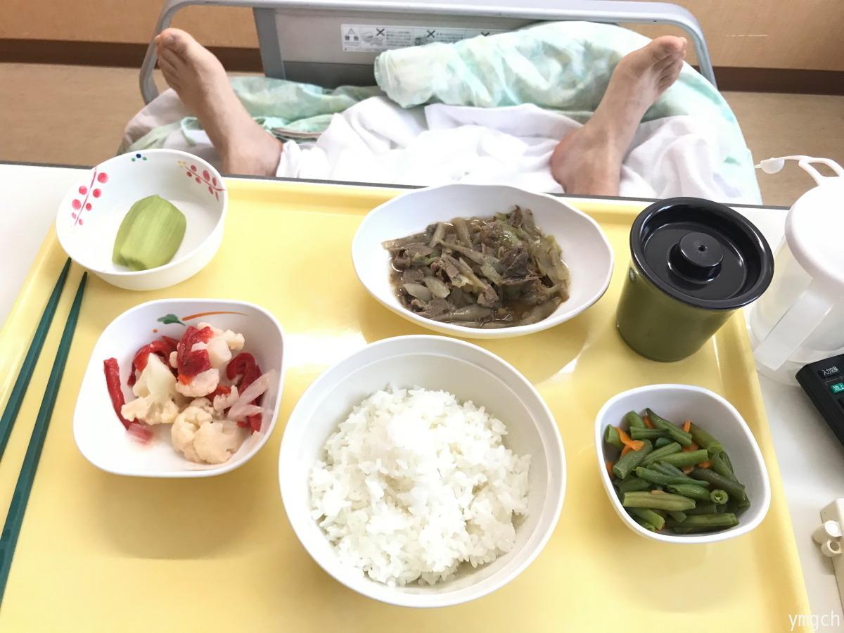 入院日記「腹腔鏡下胆嚢摘出術」(3日目)_f0157812_21593275.jpg