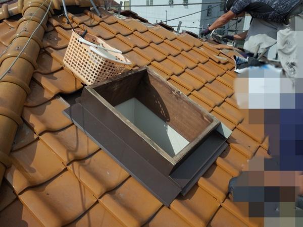 瓦の葺き直し_c0019551_10454091.jpg