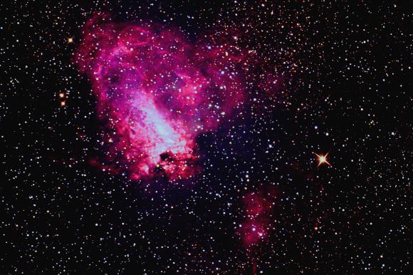 色々コンポジットのオメガ星雲(再)・・・_b0100253_00352738.jpg