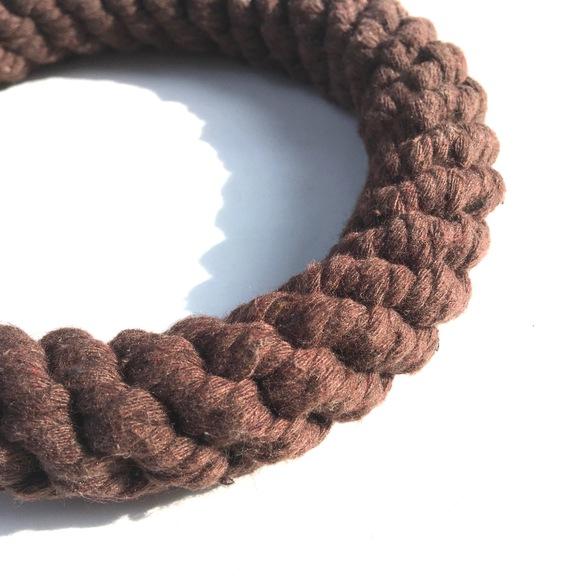 Harry Barker Cotton Rope Bone & Ring  ハリーバーカー コットンロープ リング_d0217958_11571475.jpg