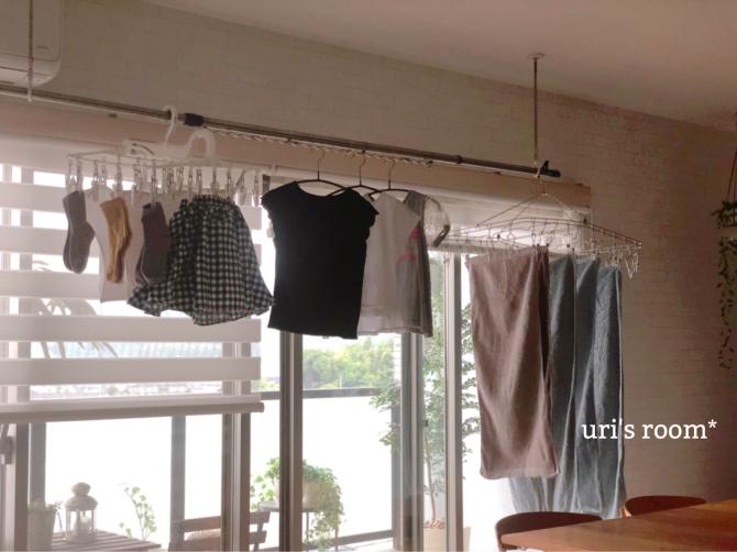 洗濯物の部屋干しに、頼もしい助っ人登場ヽ(´▽`)/_a0341288_18212076.jpg