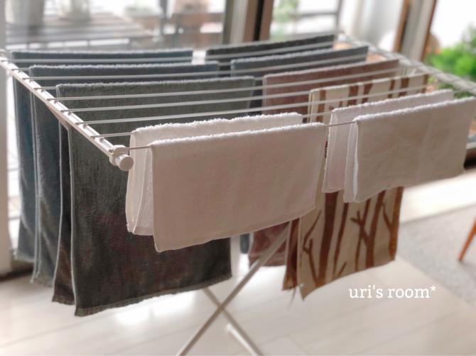 洗濯物の部屋干しに、頼もしい助っ人登場ヽ(´▽`)/_a0341288_18531549.jpg