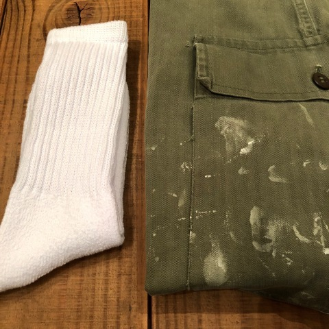 "1940s "" U.S ARMY \"" ALL cotton - M 43 H.B.T - VINTAGE CARGO PANTS ._d0172088_00151208.jpg"