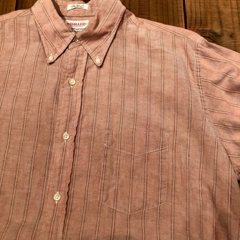 "1960-70s "" GANT -SHIRT MAKERS- \"" ALL cotton - OXFD - 三つ留め VINTAGE B/D SHIRTS ※ 明日より 営業再開致します !_d0172088_21401571.jpg"