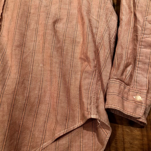 "1960-70s "" GANT -SHIRT MAKERS- \"" ALL cotton - OXFD - 三つ留め VINTAGE B/D SHIRTS ※ 明日より 営業再開致します !_d0172088_21410670.jpg"