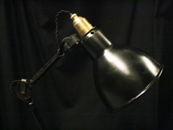 平成最後のヨーロッパ買い付け後記29 買い付け最後の食事はフランスらしくガレット。入荷1920s~GRAS desk lamp No.205 No.305_f0180307_01202950.jpg