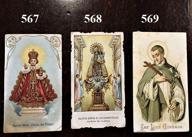 ホーリーカード(聖人のカード、エスタンパ)_f0112550_18304271.jpg