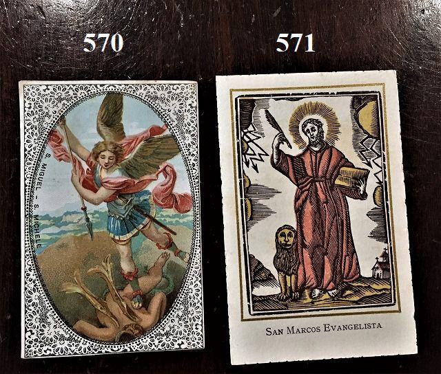 ホーリーカード(聖人のカード、エスタンパ)_f0112550_18304287.jpg