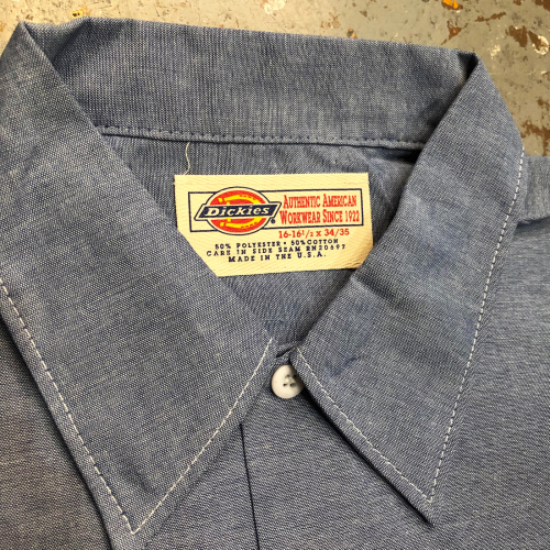 ◇ Dickies Work Shirts Dead Stock ◇_c0059778_19441195.jpg