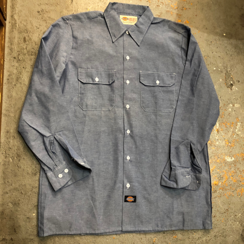 ◇ Dickies Work Shirts Dead Stock ◇_c0059778_19445595.jpg