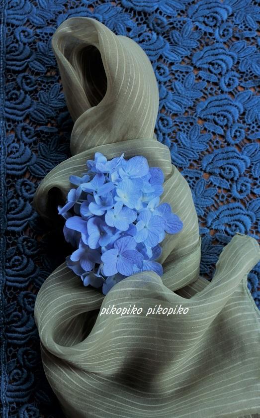 草木染   紫陽花の花びら染め_e0353681_22242037.jpg