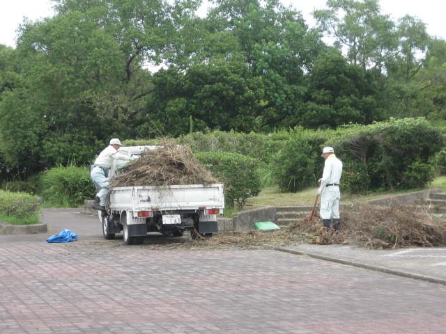 環境保全のために、緑のリサイクル活動を行っています!_d0338682_13494444.jpg