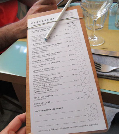 ここもマイリストに入れました!ーーフィレンツェで魚のレストラン!!_c0179785_06041192.jpg