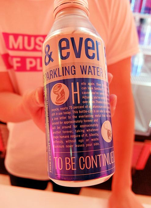 """Ever & Ever""(ずっとずっと)というアルミ缶入りスパークリング・ウォーター_b0007805_07045247.jpg"
