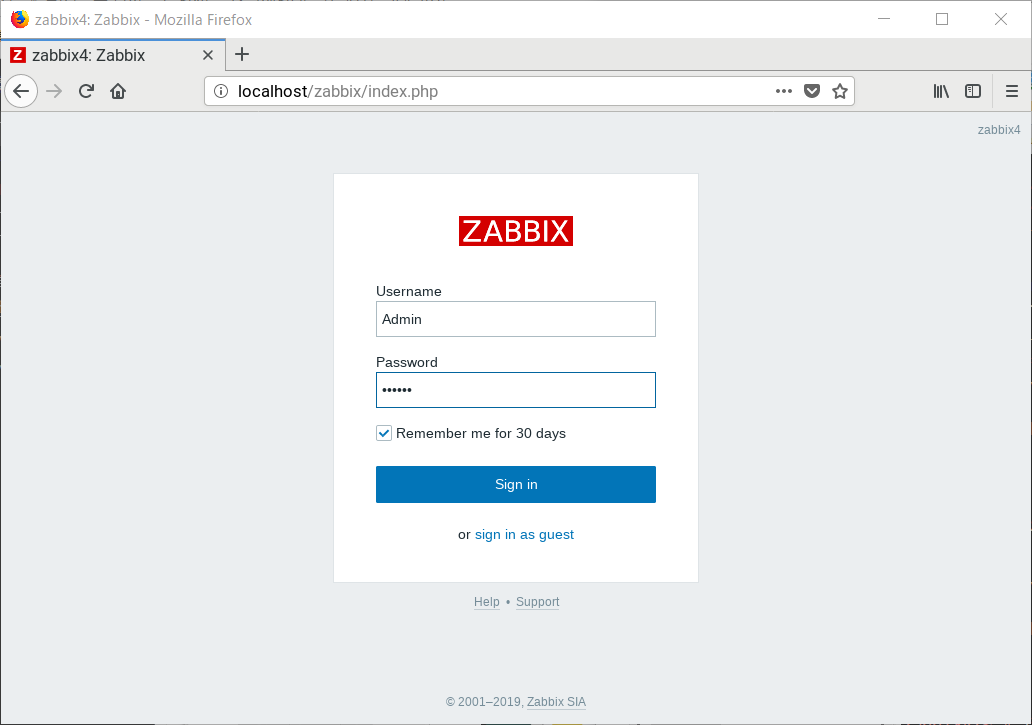 How to setup zabbix4.2 on openSUSE Leap 15.1 セットアップ_a0056607_12160285.png