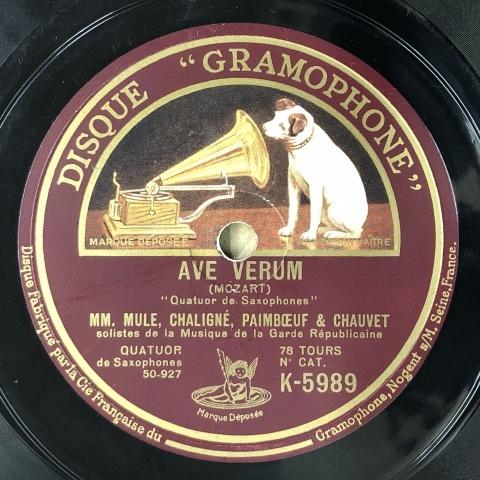 マルセル・ミュール(sax:1901-2001)のSP盤が入荷しました_a0047010_20001422.jpg