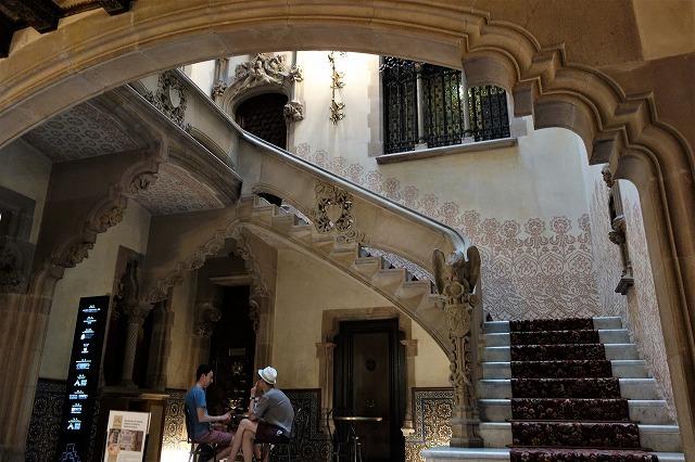 Casa Amatllerガイド付き見学2_b0064411_06102525.jpg