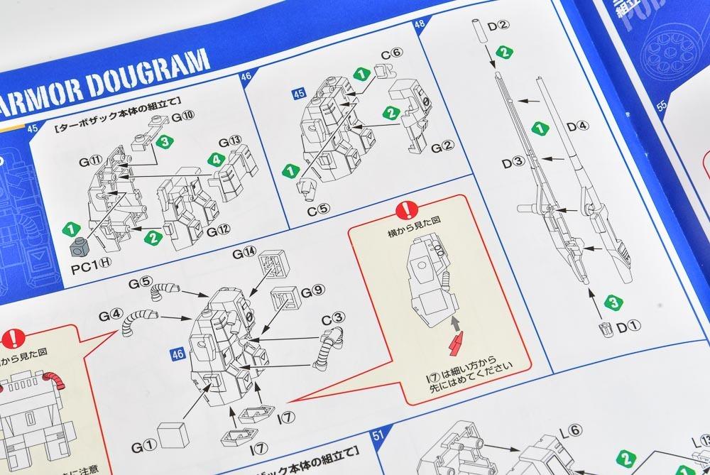ダグラム再販!! コンバットアーマーマックスキットレビュー#01 『コンバットアーマー ダグラム』&『ダグラム 対空武装強化型ザック装着タイプ』_f0395912_10383242.jpg