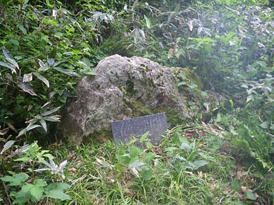 加須良川から蓮如峠と蓮如岩_a0133014_13331011.jpg