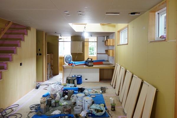 「荒川の家Ⅲ」塗装工事終盤_b0142417_12424265.jpg