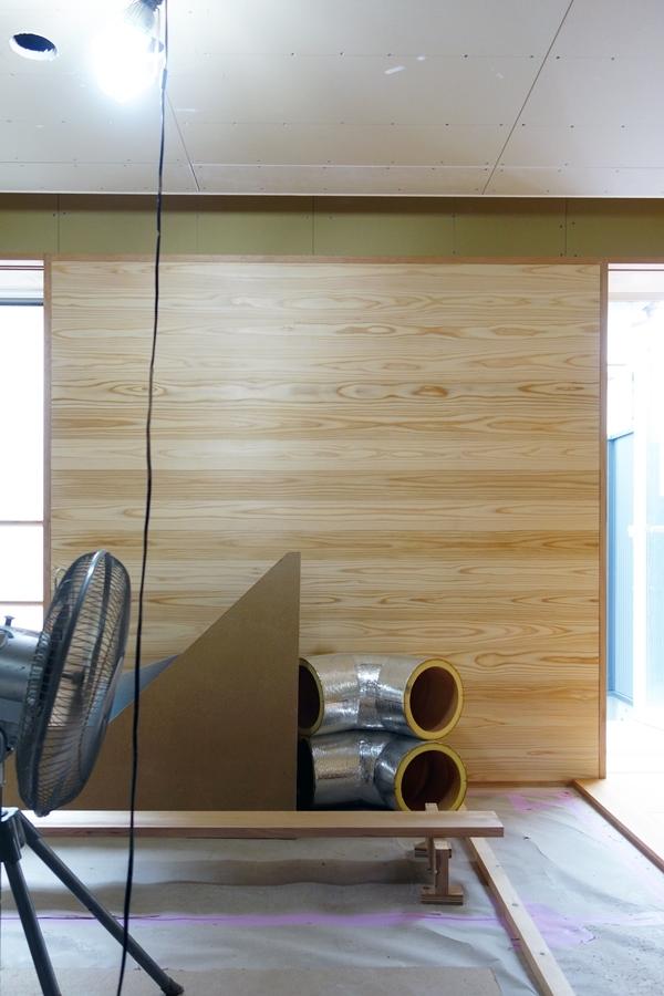 「荒川の家Ⅲ」塗装工事終盤_b0142417_12450206.jpg