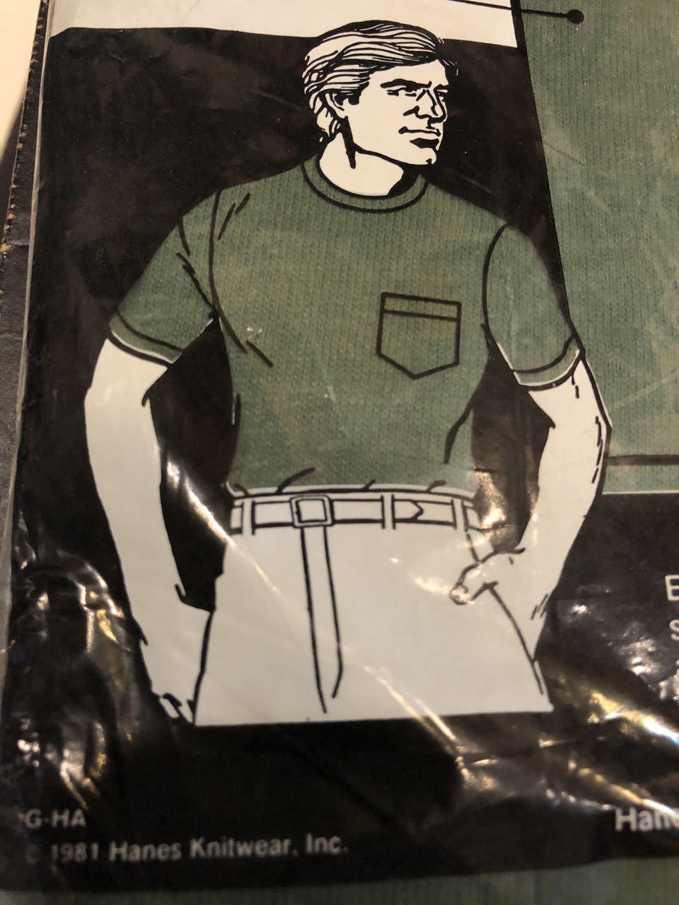 7月13日(土)入荷!明日はプチ デッドストック祭り!80s HANES MADE IN U.S.A ポケットTシャツ!_c0144020_15015520.jpg