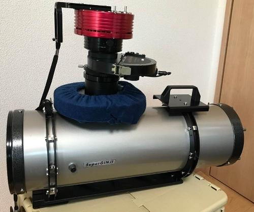 究極のGINJI150FN鏡筒改造_c0061727_07570786.jpg