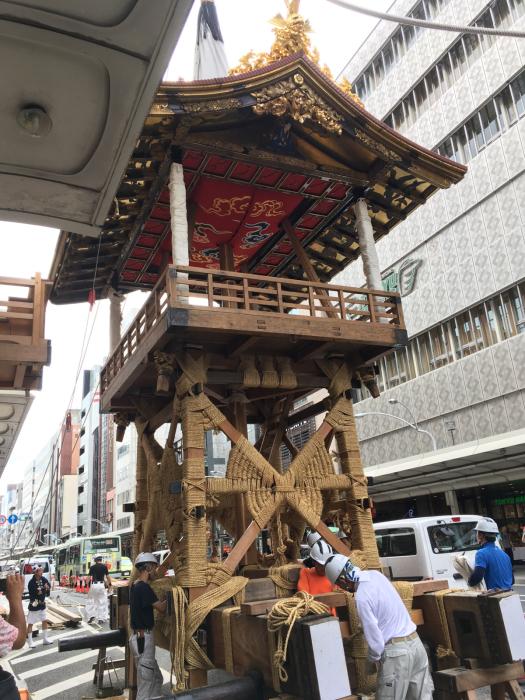 祇園祭り 鉾建て_f0155431_21503336.jpg