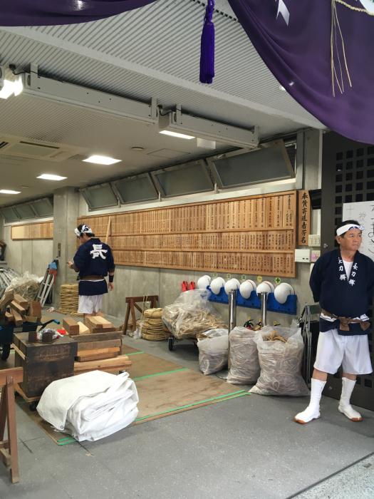 祇園祭り 鉾建て_f0155431_21503615.jpg