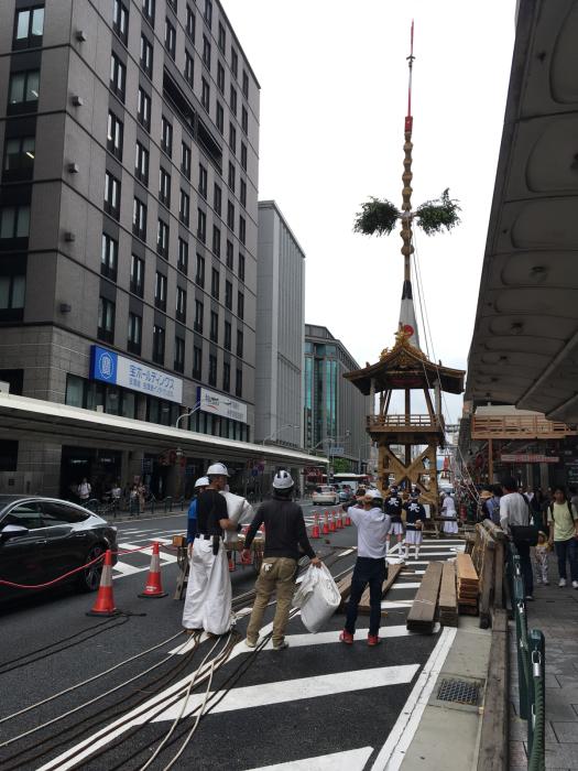 祇園祭り 鉾建て_f0155431_21512651.jpg