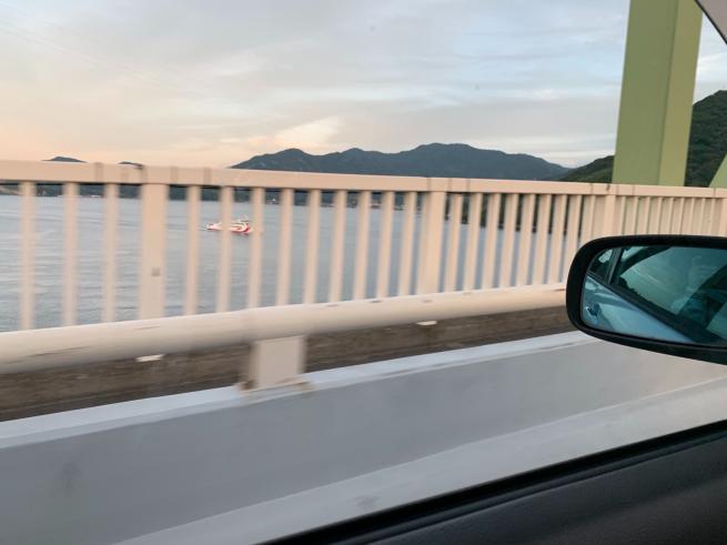大島大橋の通行規制解除゚.+:。(≧︎∇︎≦︎)ノ゚.+:。_f0183846_20450967.jpg