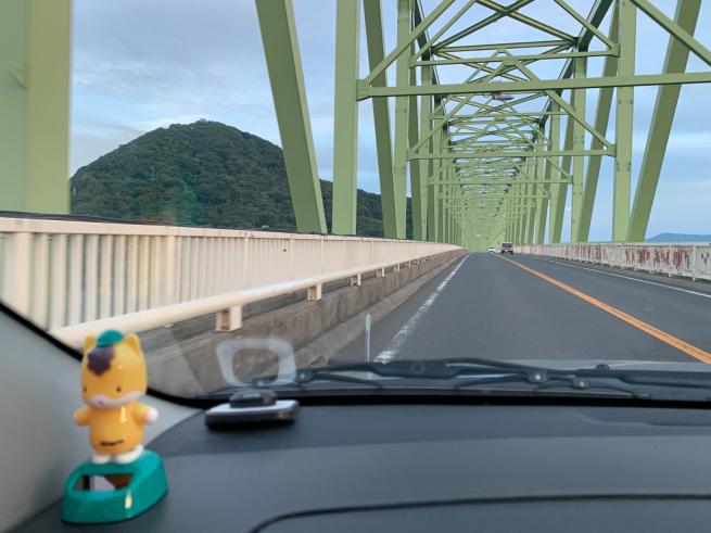 大島大橋の通行規制解除゚.+:。(≧︎∇︎≦︎)ノ゚.+:。_f0183846_20454570.jpg