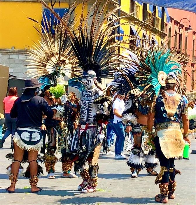 中南米の旅/69 アステカ帝国が眠るソカロ広場@メキシコシティ_a0092659_06165668.jpg