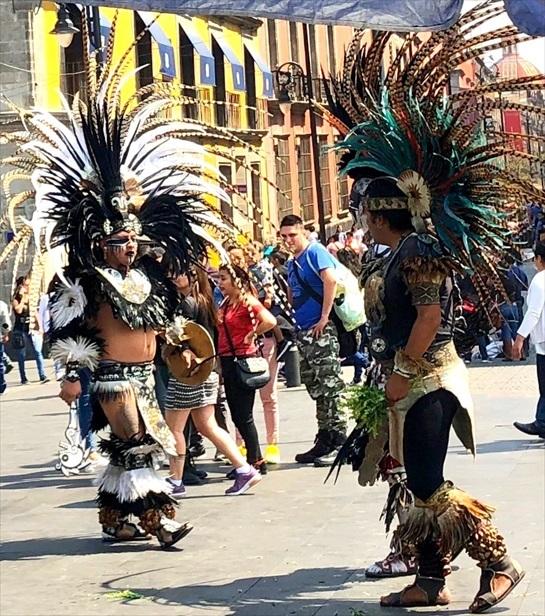 中南米の旅/69 アステカ帝国が眠るソカロ広場@メキシコシティ_a0092659_06172415.jpg