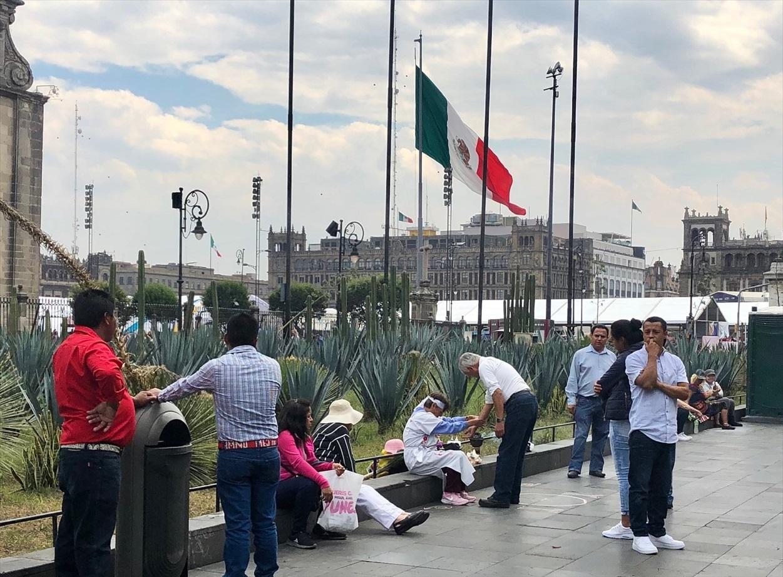 中南米の旅/69 アステカ帝国が眠るソカロ広場@メキシコシティ_a0092659_06445741.jpg