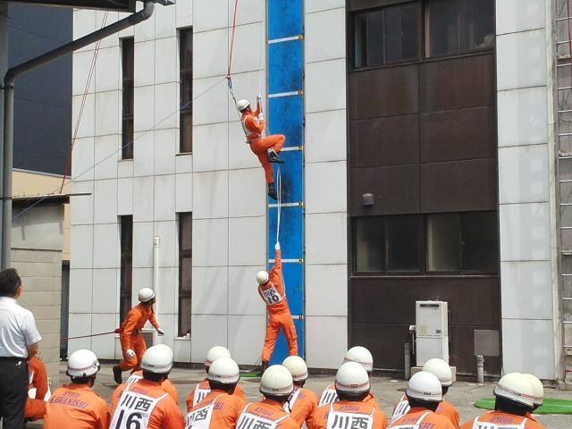 ⭐ 活躍中 ⭐ 救助技術訓練 川西市消防本部 市長査閲 毎日の訓練の積みかさね 🌝_f0061067_21580178.jpg