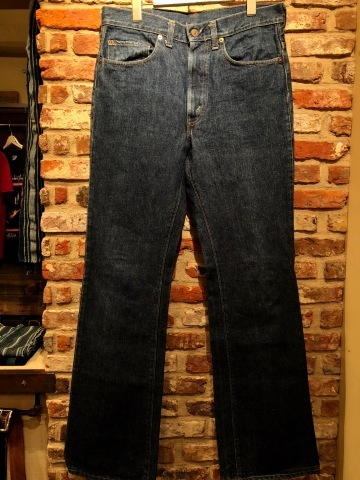 "1977 "" Levi\'s \"" - RED tab - 517 ‐ 0217 VINTAGE DENIM 5POCKET JEANS ._d0172088_18545370.jpg"