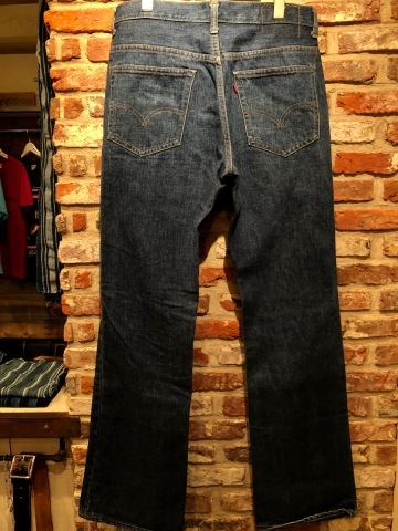 "1977 "" Levi\'s \"" - RED tab - 517 ‐ 0217 VINTAGE DENIM 5POCKET JEANS ._d0172088_18551708.jpg"